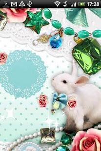 Live Wallpaper Jewelry Rabbit - screenshot thumbnail