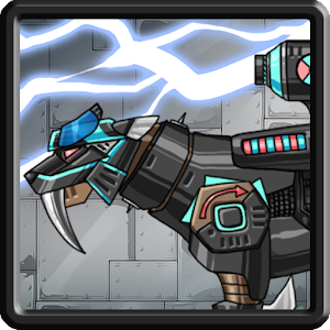 Dino Robot – Smilodon Black for PC and MAC