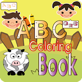 ABC Coloring Book(Alphabet)