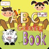 ABC Coloring Book(Alphabet)