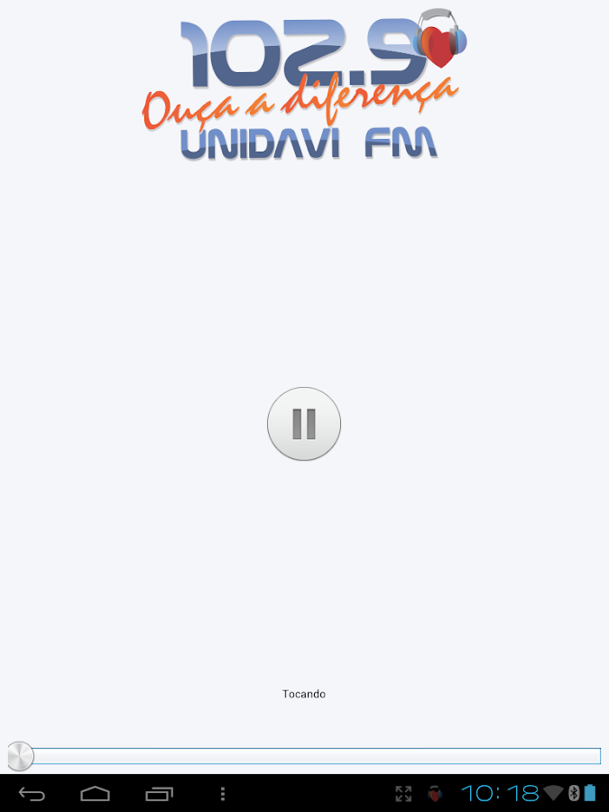 R�dio UNIDAVI FM - Android Apps on Google Play