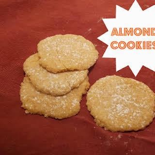 Swedish Almond Cookies.