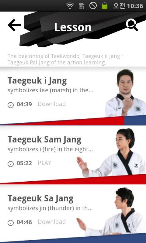 Taekwondo.Lesson - screenshot