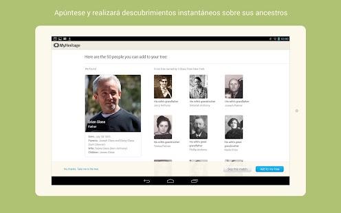 MyHeritage - screenshot thumbnail