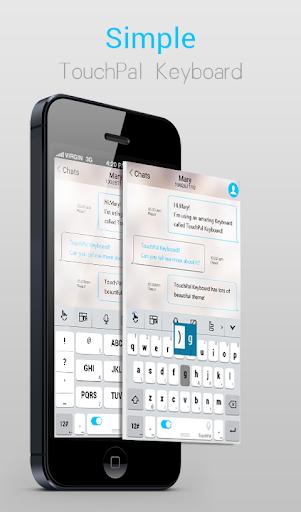 Simple iOS Keyboard Theme