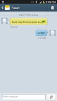 Screenshot of Fake SMS