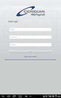 Screenshot of Ceridian SMB Payroll