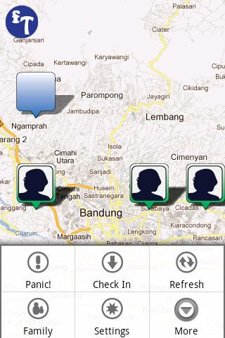 FamTracker Family Locator - screenshot
