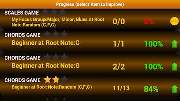 Screenshot of Piano Scales & Chords Free