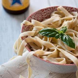 Homemade Beer Pasta