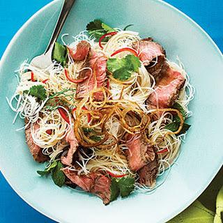 Vietnamese Steak Noodle Salad.