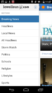 Lowell Sun News - screenshot thumbnail