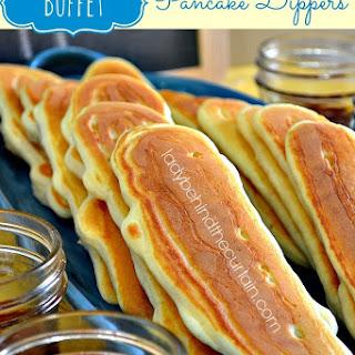 Buffet Pancake Dippers.