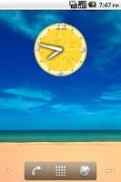 Screenshot of Lemon Clock