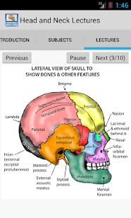 Head and Neck Lectures- screenshot thumbnail