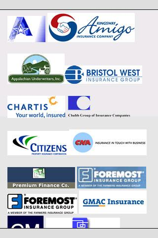 Commercial business insurance - screenshot