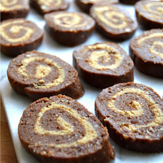 Chocolate and Peanut Butter Pinwheels