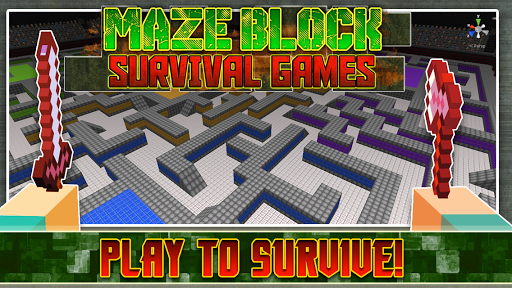 Maze Block survival games