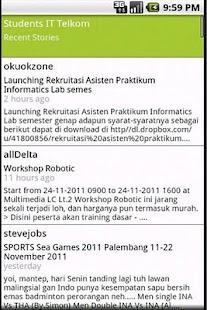 Students IT Telkom- screenshot thumbnail