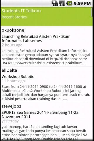 Students IT Telkom- screenshot