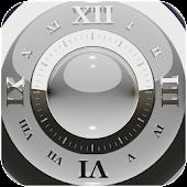 White Deluxe Clock Widget