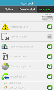 SMS & Apps Lock - screenshot thumbnail