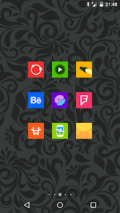 Goolors Square - icon pack screenshot 5