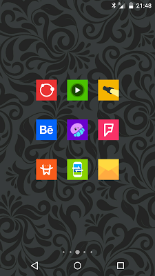 Goolors Square - icon pack - screenshot