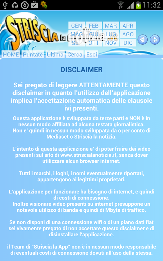 Striscia la APP - screenshot
