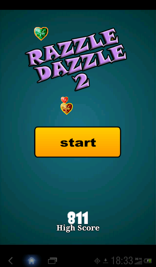 Casino razzle dazzle game