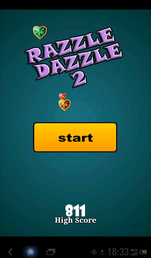 Casino razzle dazzle game