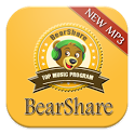 New BearShare Music App icon