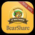 New BearShare Music App icon