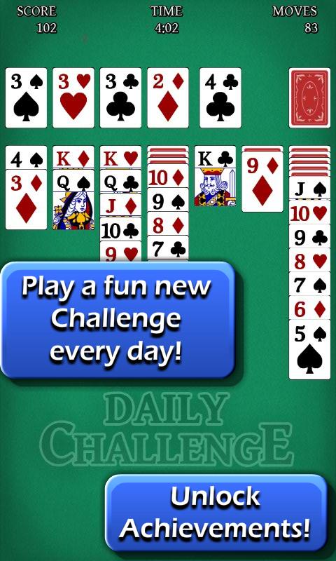 Solitaire: Daily Challenge– captură de ecran