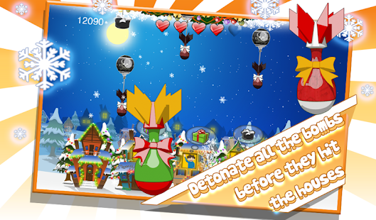 Santa Floating Gifts - screenshot thumbnail