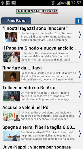 Il Giornale d'Italia RSS