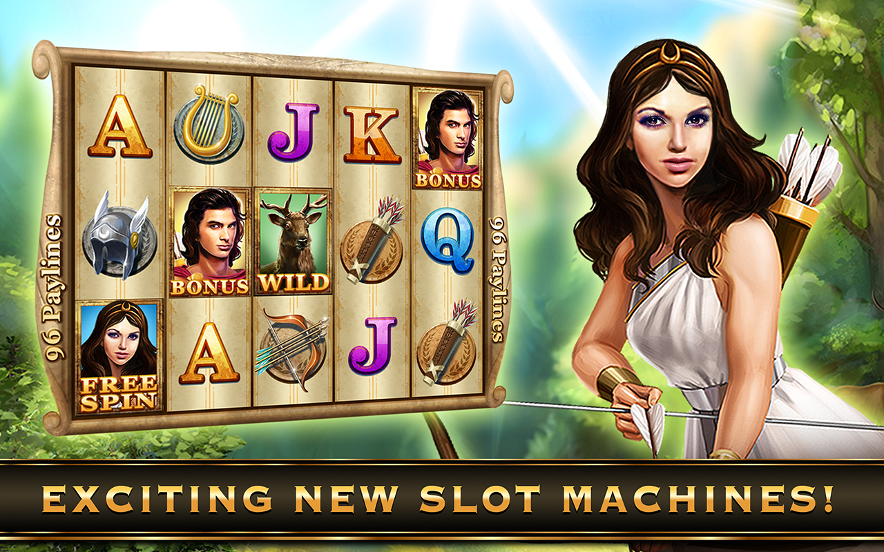Olympic Gods Slot Machine - Play for Free With No Download