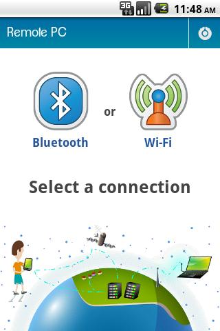 Bluetooth Remote PC- screenshot