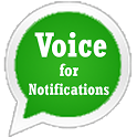 Voice for Notifications icon