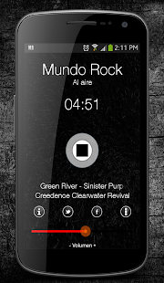 Mundo Rock Radio- screenshot thumbnail