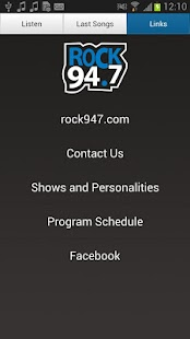 Rock 94.7 - screenshot thumbnail