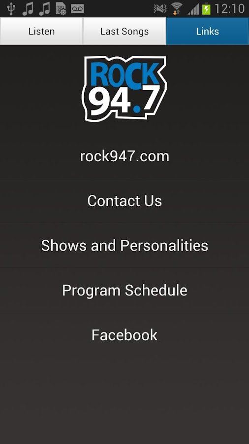 Rock 94.7 - screenshot