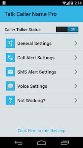 Talk Caller Name PRO v2.0
