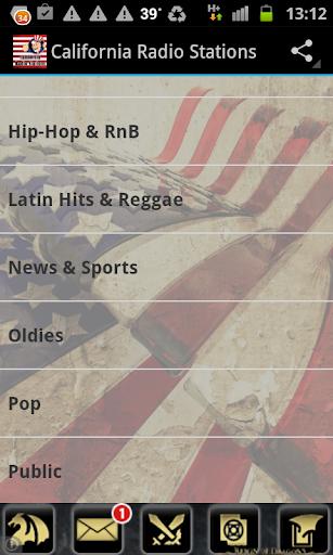 California Radio Stations USA