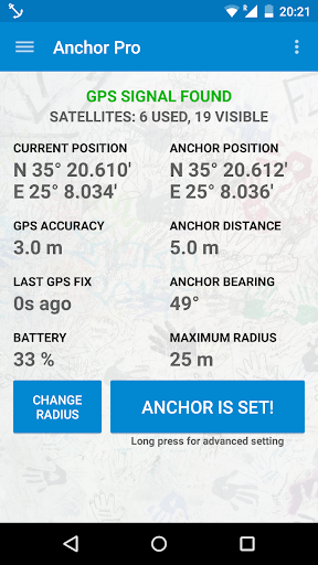Anchor Watch Pro SMS Alarm