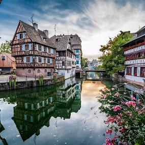 Strasbourg by Jesús Sánchez Ibáñez - City,  Street & Park  Vistas ( europe, petite france, strasbourg )