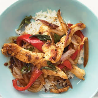 Chicken and Basil Stir-Fry.