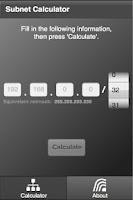 Screenshot of Subnet Calculator