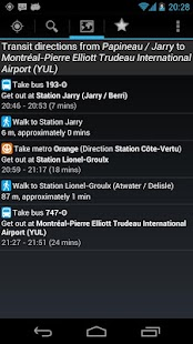 Montreal Metro & Bus - screenshot thumbnail