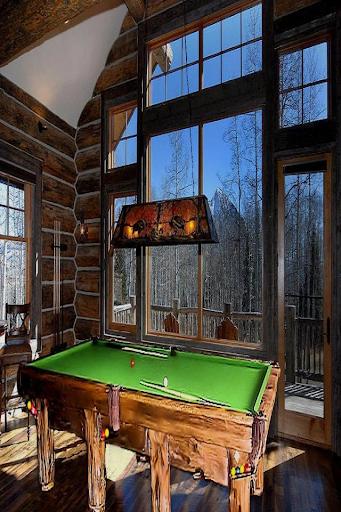 Log Cabin Rustic Pool Tables